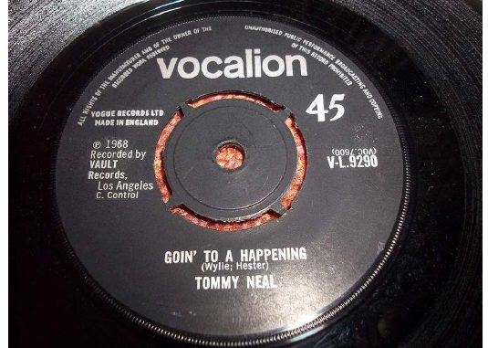Goin' To A Happening - Tommy Neal