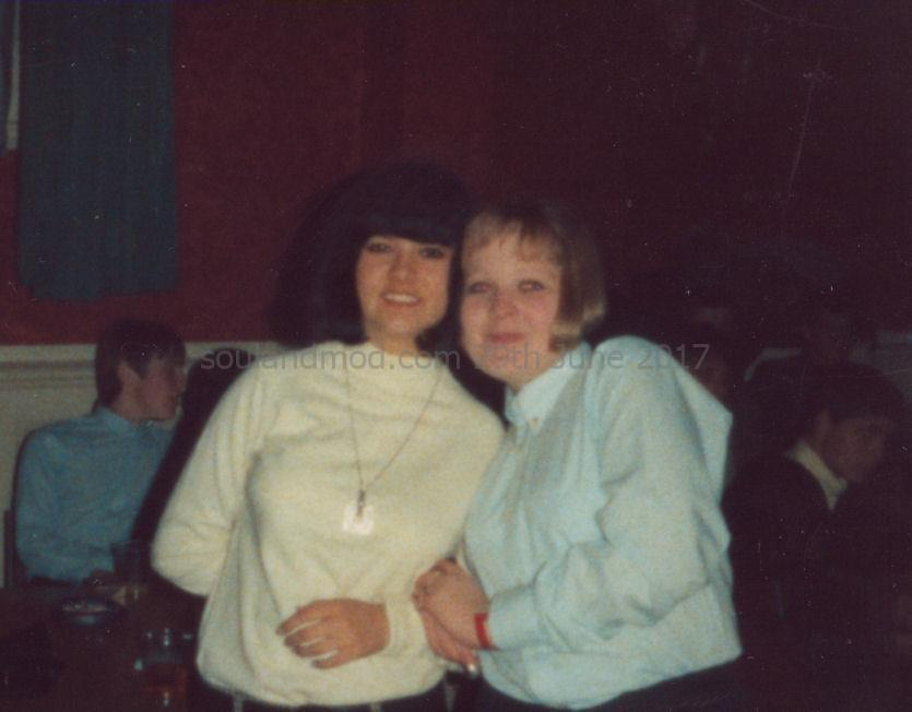 Vicky Richmond & Jayne Thomas, Rotherham Assembly Rooms, October 1986.