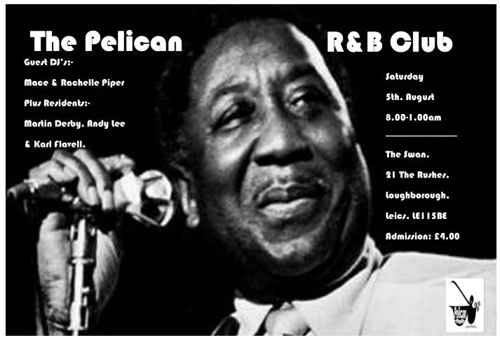 The Pelican R&B Club Loughborough