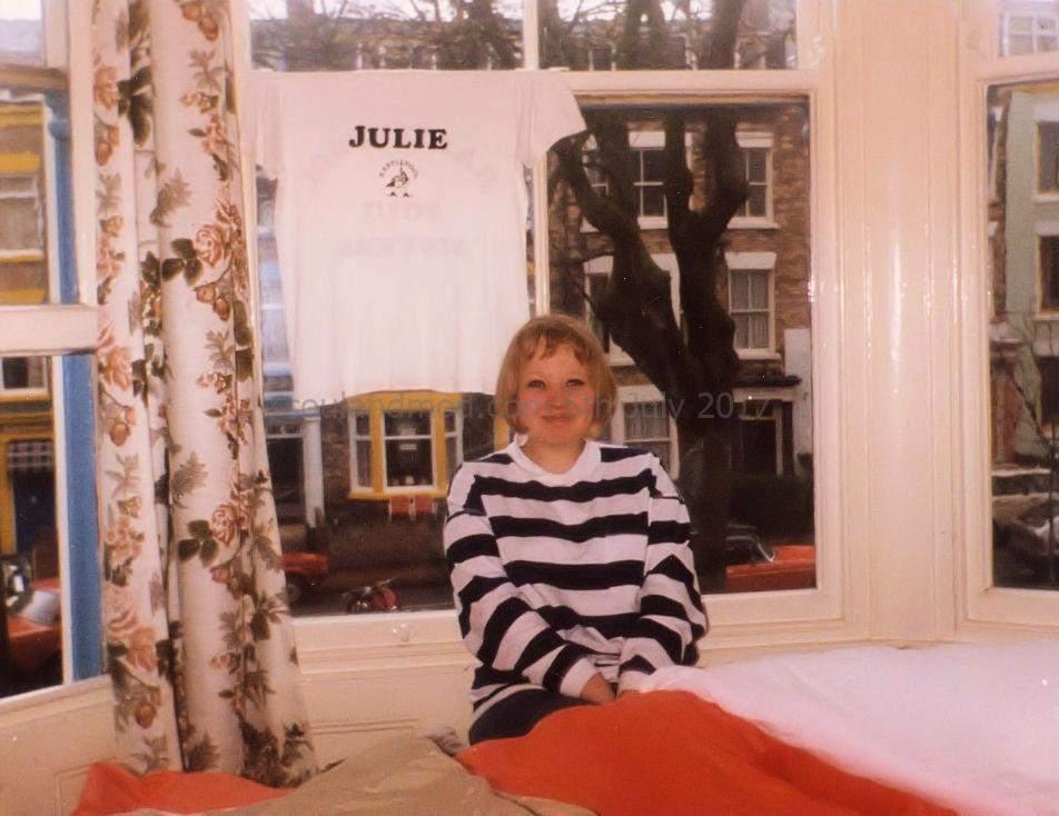 Jayne Thomas, Scarborough CCI Mod Rally, May 1987.
