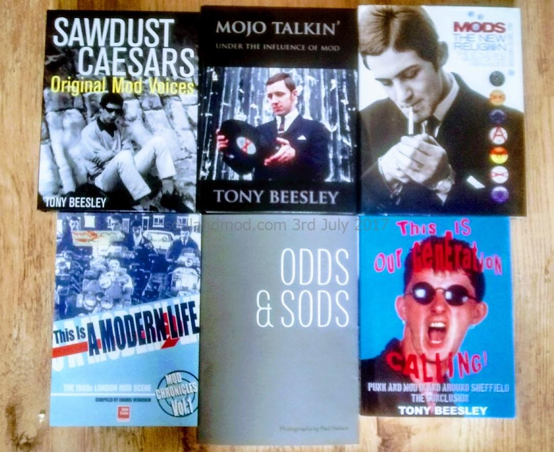Selection Of Mod Subculture Books
