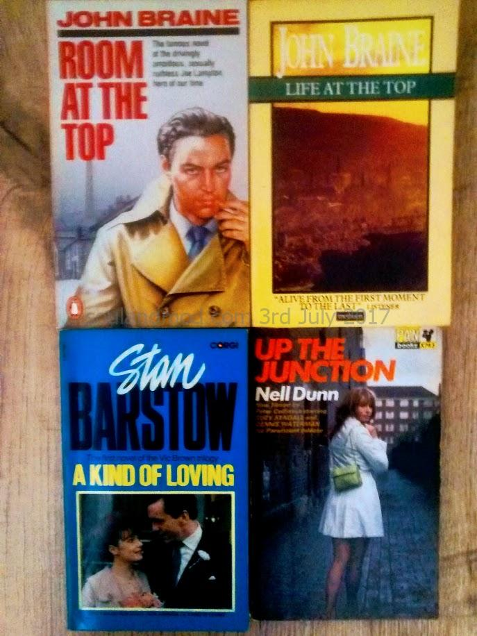 British New Wave Authors - John Braine, Stan Barstow & Nell Dunn