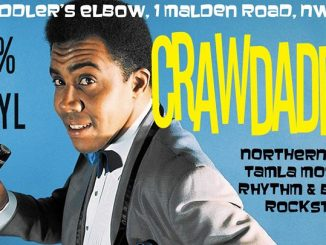 Crawdaddy! with guest DJ Freddie Boom Boom