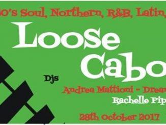 Loose Caboose Lewes 28/10/17 - DJs Rachelle Piper, Martin Jackson & Andrea Mattioni