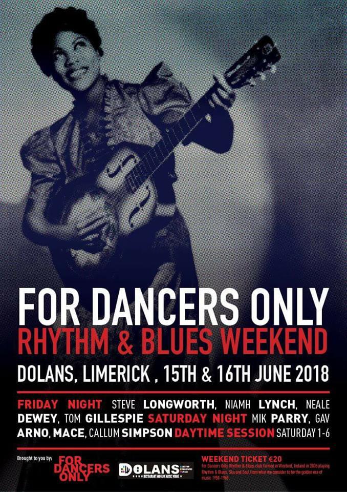 Limerick R&B Weekender June 2018