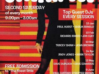 Steppin' Out - DJs Jonathan Dabner, Shaun Arnold & Paul Hurst, London N16 6XS - Northern Soul, 60s R&B, Mod Jazz & Boogaloo 13/01/18