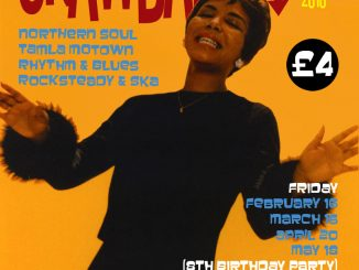 Crawdaddy! - Guest DJ Terry 'Record Corner' Davis, London, NW5 3HS - Playing 60s R&B, Tamla Motown, Ska, Mod & Northern Soul - 16/02/2018