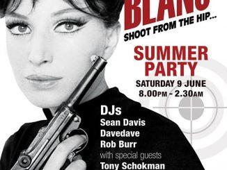 Point Blanc - London EC3R 8AJ. DJs Sean Davis, DaveDave, Rob Burr, Tony Schokman & Chris Vines. Playing 60s R&B, 60s Soul, Latin Soul & Mod. 09/06/18