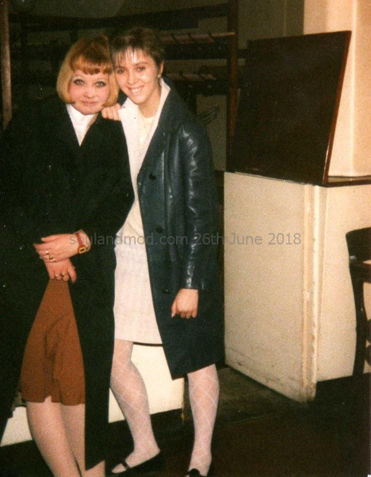 Mod Girls - Jayne Thomas & Vanessa Paxton Rotherham, October 1987