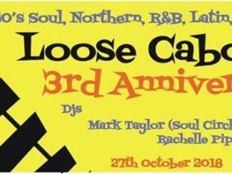 Loose Caboose - Lewes, BN7 1XS GB, DJs Rachelle Piper, Martin Jackson & Mark Taylor, 60s Soul, Northern Soul, 60s R&B, Latin & Jazz - 27/10/18