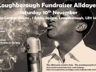 Loughborough Fundraiser Alldayer - 10/11/18 - Loughborough, LE11 5AA. DJs Julian Clapton, Ady Wright, Robert Glover, Kev Meek, Ally Mayer & Jodie Richardson. Playing 60s Soul, Northern Soul, 60s R&B, Latin Soul, Mod & Boogaloo.