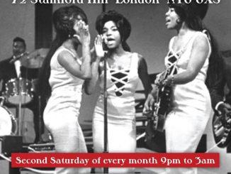 Steppin' Out - Guest DJs Jim Watson & Manuel Lovisutti, Stoke Newington, London N16 6XS - Northern Soul, Vintage / 60s R&B, 60s Soul, Tamla Motown, Mod Jazz, Boogaloo & Ska 13/10/18
