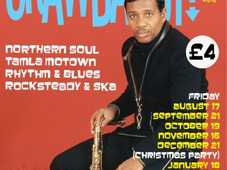 Crawdaddy! with guest DJ Ian Jackson, The Fiddlers Elbow, London, NW5 3HS - Ska, 60s R&B, Northern Soul & Motown. 19/10/2018