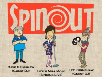 Spinout at The Boogaloo Revue - DJs Lee 'Grimmers' Grimshaw, Dave Grimshaw & Vocalist Little Miss Mojo. Playing 60s Club Soul, 60s R&B, Northern Soul, Funk, Mod Raves, 60s Garage & Boogaloo. Chatham, Kent ME4 4DS. 10/11/18