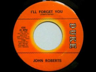 John Roberts - I'll Forget You - Duke