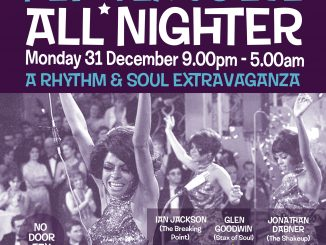 Steppin' Out New Years Allnighter - DJs Ian Jackson, Glen Goodwin & Jonathan Dabner. London N16 6XS - Northern Soul, Vintage / 60s R&B, 60s Soul, Tamla Motown, Mod Jazz, Boogaloo & Ska. 31/12/18