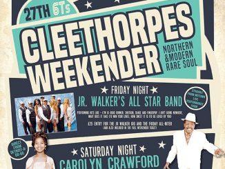 27th 6T's Cleethorpes Northern & Rare Soul Weekender - Carolyn Crawford & Willie Jones - Cleethorpes, Lincolnshire DN36 4ET. Rare Soul, Northern Soul, 60s Soul, 70s Soul, Crossover Soul. 07/06/19 - 10/06/19