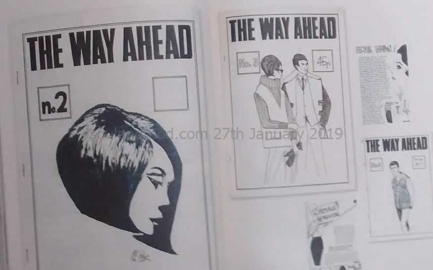 Modzines The Way Ahead - Janet Page 1983/1984