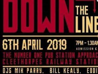 Somewhere Down The Line 4th Anniversary - DJs MJ Parry, Bill Kealy, Eddie Wainwright, Mark Annis, Chris Riley & Pete Riley. Cleethorpes. dn35 8ax. 60s R&B, Ska, 60s Soul, Vintage R&B & Popcorn 06/04/19