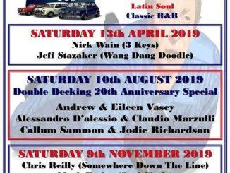 The Britalian Job - DJs Mark Crew, Mark Shaw, Nick Wain & Jeff Stazaker. Nottingham, NG2 5FA. Playing 60s Soul, 60s R&B, Northern Soul, Ska, Mod & Boogaloo. 13/04/19
