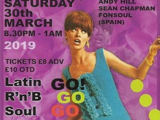 hills & Fever - DJs Fon Soul, Sean Chapman & Andy Hill. Hertford, SG14 1AL - Latin Soul, 60s Soul, Mod, 60s R&B, Boogaloo & Ska - 30/03/2019