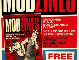 Bristol Modzines book Q & A and signing - Eddie Piller, Steve Rowland & Claire Mahoney - Bristol, BS1 6TJ - DJ Steve Rowland - Mod revival. 16/03/19
