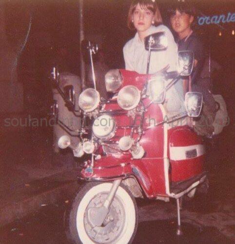 Clelia Lucchitta 1980s Italian Mod Girl.