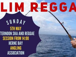 Slim Reggae From The Sea - Herne Bay Angling Association, 59 Central Parade, Herne Bay, CT6 5JG Kent. Playing Ska & Reggae. 05/05/19