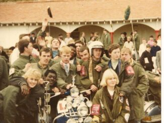 Nottingham Mods At Scarborough Mod Rally 1986