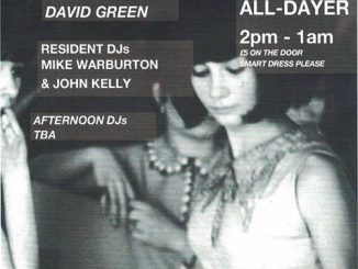 MG Blues 3rd Anniversary - DJs Mike Warburton, John Kelly, Dave Edwards, John Drake & David Green. The Waldorf, 12 Gore Street, Manchester M1 3AQ. Playing 60s R&B, 60s Soul, Mod Jazz, Mod classics, Hammond, Latin Soul & Ska. 29/06/19