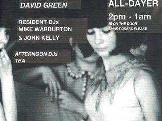 MG Blues 3rd Anniversary - DJs Mike Warburton, John Kelly, Dave Edwards, John Drake & David Green. The Waldorf, 12 Gore Street, Manchester M1 3AQ. Playing 60s R&B, 60s Soul, Mod Jazz, Mod classics, Hammond, Latin Soul & Ska. 29/06/19