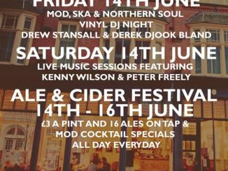 Revive Festival - DJs Drew Stansall, Derek Djook Bland & live music from Kenny Wilson and Peter Freely. The Exchange, 50 Rutland Street, Leicester, United Kingdom LE1 1RD. Playing Mod, Northern Soul & Ska. 14/06/19 -16/04/19