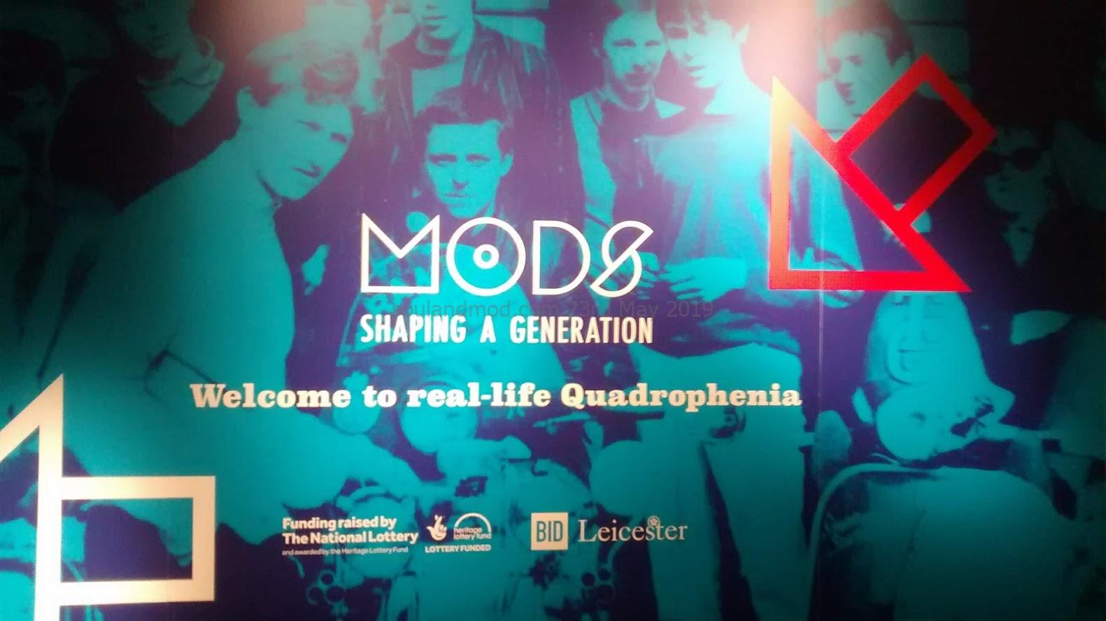 Mods Shaping A Generation Exhibition, Leicester