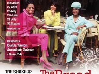 The Shakeup - DJs Rex Bendon, Curtis Taylor, Clovis Taylor & Jon Dabner. 68 Clapham Manor Street, London SW4 6DZ. 60s R&B, Northern Soul, 60s Soul, Boogaloo, Motown & Mod Jazz. 27/07/19