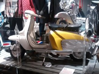 Mods Shaping A Generation Exhibition Leicester - Scooter Exhibits - Lambrettas