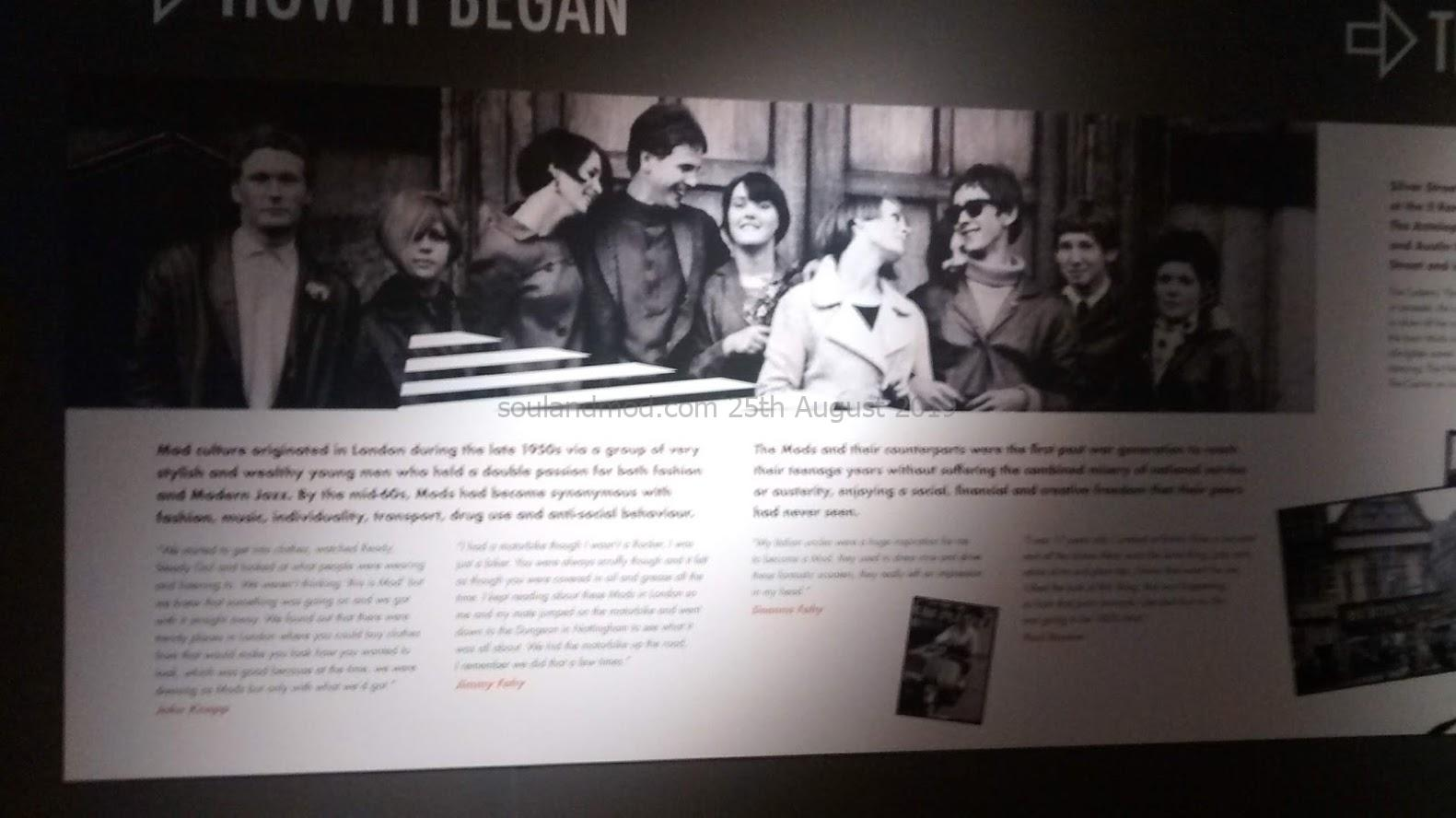 Mods Shaping A Generation Exhibition Leicester 1960s Mods
