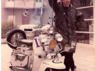 Andrea Mattioni circa 1983 - Rimini Mods - Italian Mod - 1983