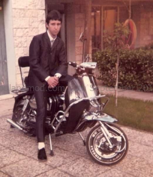 Andrea Mattioni - Rimini Mods - Italian Mod- Circa 1980s