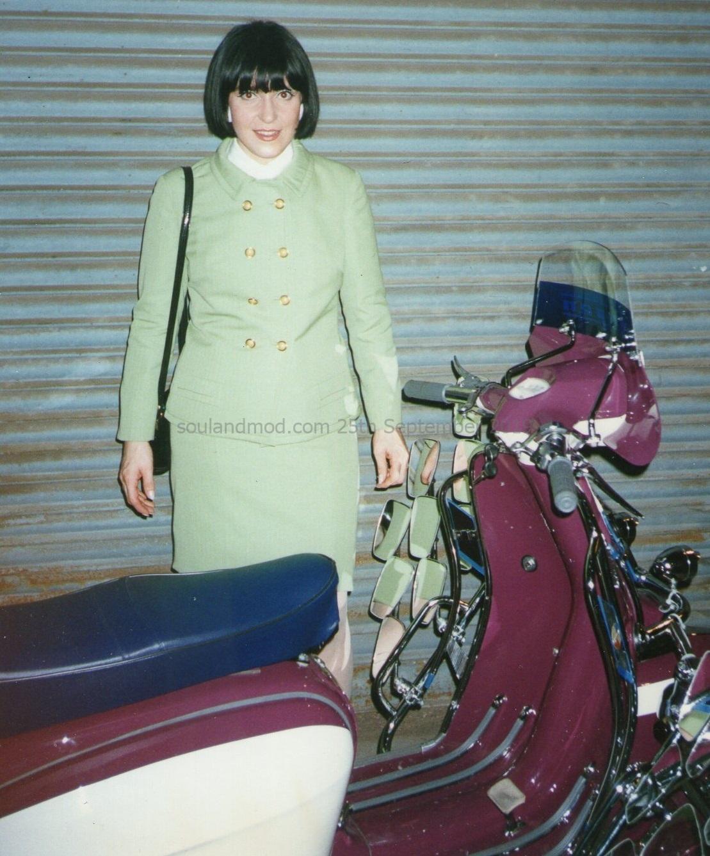 Clelia Lucchitta Italian Mod Girl circa 1990s.