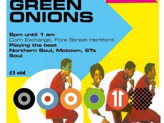 Green Onions - Hertford Corn Exchange, Hertford, SG14 1AL - 60s Soul, Northern Soul, Latin Soul, Motown - 05/10/19