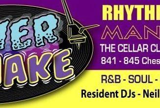 Shiver & Shake - 19/10/19 - DJs John Kelly, Mace, Clive Read & Neil Gibson. Playing Soul, 50s & 60s R&B, Blues & Popcorn. Greatstones Hotel Cellar Bar, Stretford, Manchester M32 0RN.