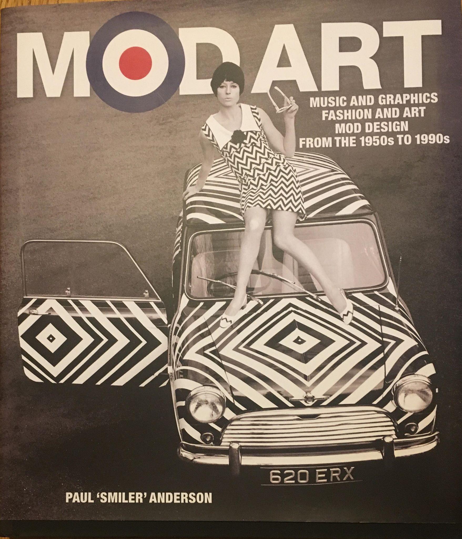 "Mod books & Mod literature - Mod Art by Paul ""Smiler"" Anderson"