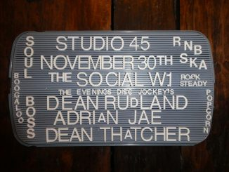 Studio 45 - DJs Dean Thatcher, Dean Rudland & Adrian Jae. 5 Little Portland Street, London, W1W 7JD. Playing rare Soul, 60s Soul, Popcorn, 60s R&B, Ska, Rocksteady & Reggae. 30/11/19