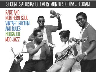 Steppin' Out - Guest DJs Tony Smith & Jan Twosugars - Mascara Bar, 72 Stamford Hill, Stoke Newington, London N16 6XS - Northern Soul, Vintage / 60s R&B, Mod Jazz, Motown & Boogaloo. 14/12/19