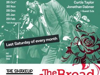 The Shakeup - DJs Brian Baker, Curtis Taylor & Jon Dabner. 68 Clapham Manor Street, London SW4 6DZ. 60s R&B, Northern Soul, 60s Soul, Boogaloo, Motown & Mod Jazz. 25/01/20
