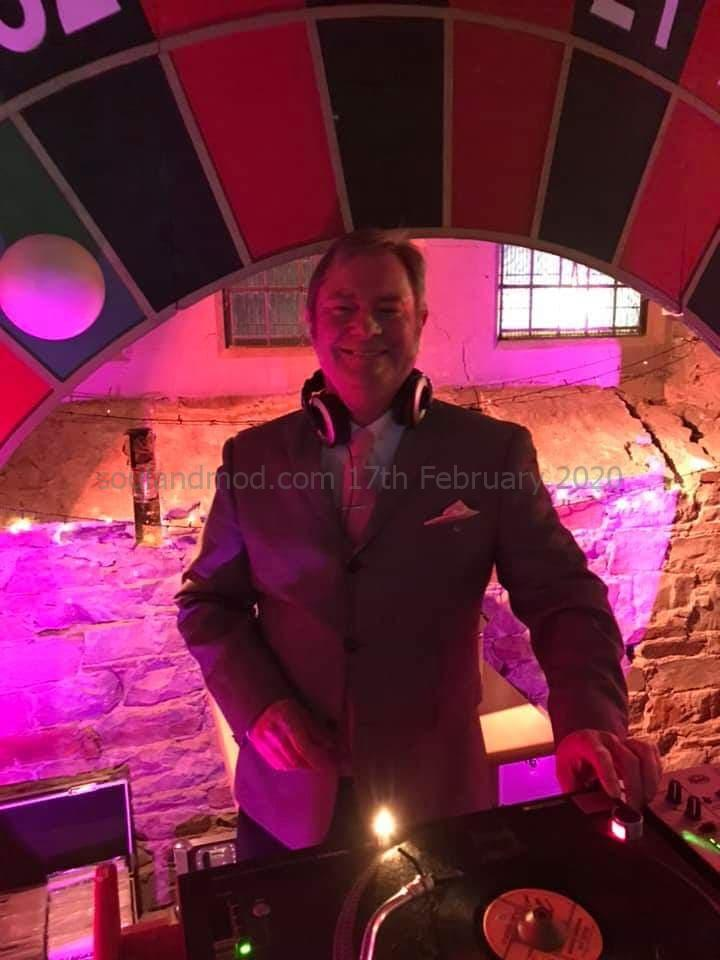 Danny Coates Newcastle Mod & Mod DJ at Get Smarter & Riviera Touch Djing At Kitten Casino in 2019