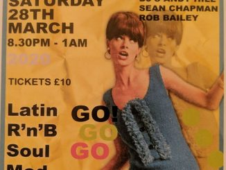Chills & Fever - DJs Rob Bailey, Sean Chapman & Andy Hill. Hertford Corn Exchange, Hertford, SG14 1AL - Latin Soul, 60s Soul, Mod, 60s R&B, Boogaloo & Ska - 28/03/2020