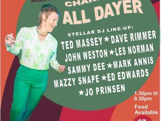 Steppin' Up Charity Alldayer -  DJs Ted Massey, Dave Rimmer, John Weston, Les Norman, Sammy Dee, Mark Annis, Mazzy Snape, Ed Edwards, Jo Prinsen. The Night Owl, 17-18 Lower Trinity Street, Birmingham, B9 4AG. Northern Soul, '60's R&B, Rare Motown & '60's Mod tunes. 05/04/20
