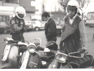Italo Adriani, Rimini Mods - Kennedy Square, Rimini Italy, April 1986
