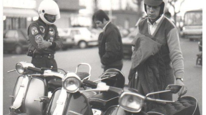 Italo Adriani, Rimini Mods - Kennedy Square, Rimini Italy, April 1986
